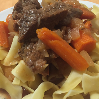 Sweet Carrot Hungarian Goulash recipe