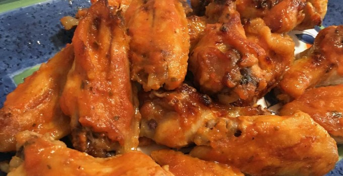 baked barbequed wings recipe