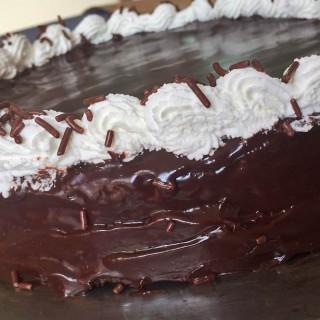 Double-Chocolate Mousse Cake (Flourless) recipe