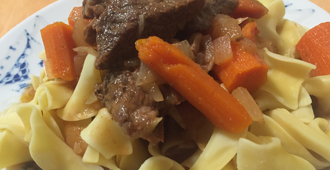 Sweet Carrot Hungarian Goulash recipe