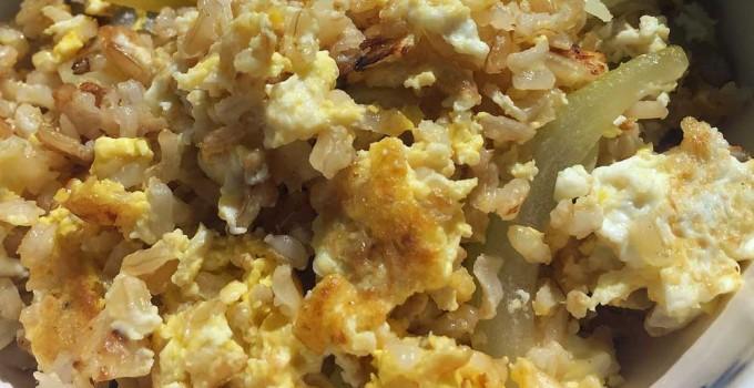 fried rice recipe - brown rice