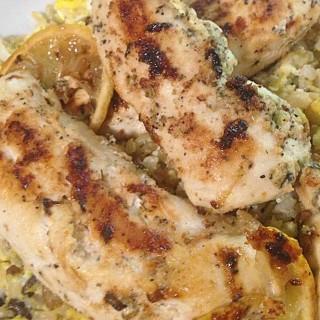 tzatziki chicken & wild rice recipe