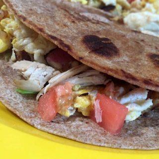 Turkey Breakfast Tacos Recipe